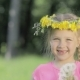 Portrait of a Funny Little Girl in the Woods. A Child Without Front Teeth Looks Into the Camera and - VideoHive Item for Sale