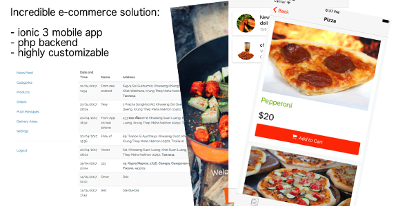 Giraffy Delivery - Complete food delivery platform with mobile apps - CodeCanyon Item for Sale