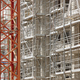 Scaffolding structure on a building. Construction architecture industry. Workplace - PhotoDune Item for Sale
