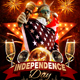 4th Of July Independence Day Flyer Template - GraphicRiver Item for Sale
