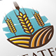 Wheat Food Land Logo