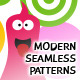 Modern Seamless Patterns – Bird, Bunny, Monster - GraphicRiver Item for Sale
