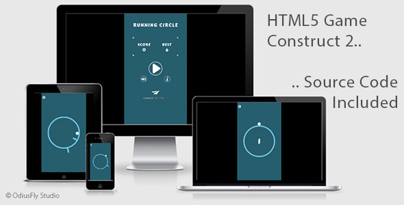 Running Circle - HTML5 Game (Construct 2)            Nulled