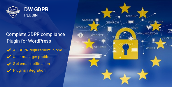 DW GDPR - WordPress GDPR compliance plugin            Nulled