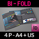 Company Brochure Bi-Fold Template Vol.45 - GraphicRiver Item for Sale