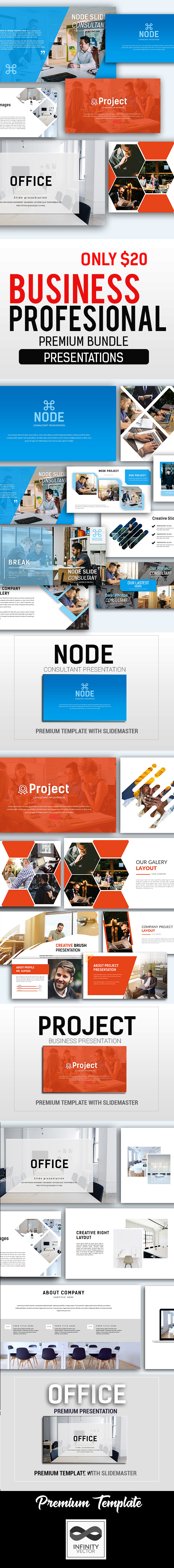 Business Professional Bundle - PowerPoint Templates Presentation Templates