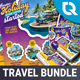 Tour and Travel Advertising Bundle - GraphicRiver Item for Sale