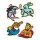 Baseball and Ice Hockey Team Mascots Collection - GraphicRiver Item for Sale
