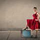 Woman with a vintage dress - PhotoDune Item for Sale