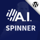 A.I. Spinner - Rewrites article with Artificial Intelligence