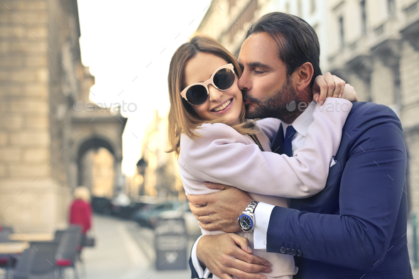 Elegant couple - Stock Photo - Images