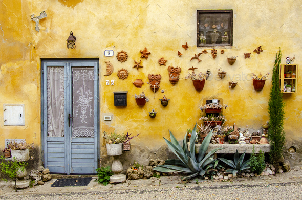 Home at Tuscany - Stock Photo - Images