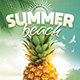 Summer Beach Flyer Template - GraphicRiver Item for Sale