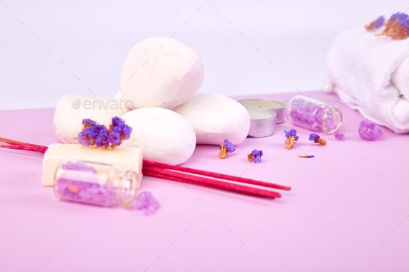 Spa concept. Zen stones - Stock Photo - Images