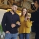 Friendly Realtor Giving Keys To Beautiful Young Couple Buyers of New House, Happy Spouses - VideoHive Item for Sale