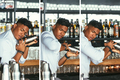 Expert bartender preparing cocktail collage - PhotoDune Item for Sale