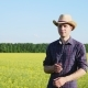 Portrait of a Farmer on the Field - VideoHive Item for Sale