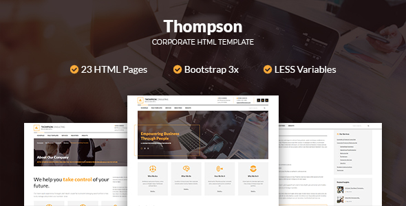Thompson Corporate HTML Template