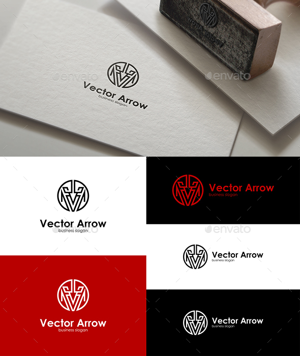 Vector Arrow Logo - Letters Logo Templates