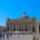 Most Famous Landmarks in the World, Vatican City Square St. Peters Basilica in Hyperlapse