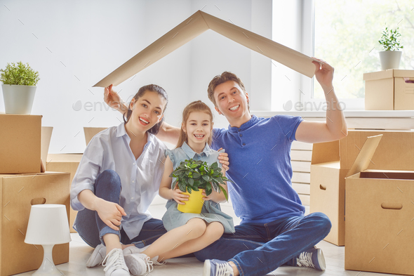 Concept of housing for family - Stock Photo - Images