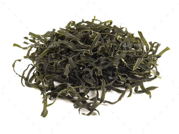 Dried seaweed - Stock Photo - Images