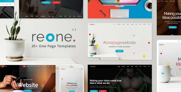 Image of Reone - One Page Parallax