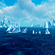Sea And Icebergs - VideoHive Item for Sale