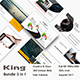 King 3 in 1 Bundle Keynote Template - GraphicRiver Item for Sale
