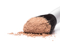 Makeup brush with loose cosmetic powder - PhotoDune Item for Sale