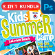 Kids Summer Camp Bundle 3 In 1 - GraphicRiver Item for Sale