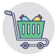 224 Shopping and Commerce Flat Icons - GraphicRiver Item for Sale