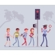 Safe Road Crossing - GraphicRiver Item for Sale