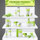Promotion Stand Cosmetic Products