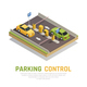 Parking Gate Control Background - GraphicRiver Item for Sale