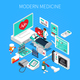 Modern Medicine Isometric Composition - GraphicRiver Item for Sale