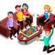 Board Games Adults Leisure - GraphicRiver Item for Sale