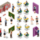 Isometric School People Set - GraphicRiver Item for Sale