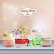 Candy Shop Composition