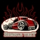 Cartoon Retro Hot Rod - GraphicRiver Item for Sale