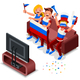 Russia Football Team Flag
