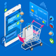 Shopping Cart Mobile Interface - GraphicRiver Item for Sale