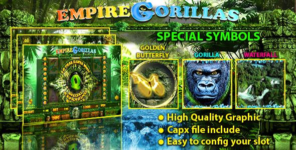Empire Gorillas Slot - CodeCanyon Item for Sale