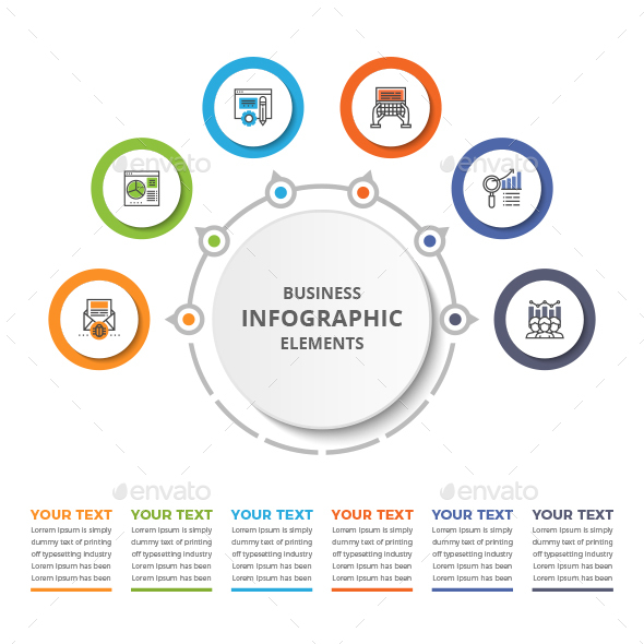 Simple Business Infographics Element - Infographics