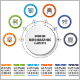 Simple Business Circle Infographics - GraphicRiver Item for Sale