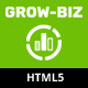 Grow-Biz – Business & Multipurpose Responsive OnePage HTML Template - ThemeForest Item for Sale