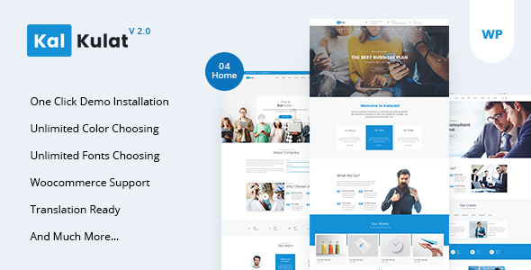 Kalkulat - Multipurpose Business WordPress Theme