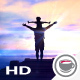 Happy Father With Baby On The Beach - VideoHive Item for Sale