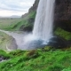Seljalandfoss Waterfall. Beautiful Summer Sunny Day. Iceland - VideoHive Item for Sale