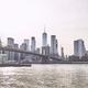 Retro toned picture of Manhattan skyline at sunset. - PhotoDune Item for Sale